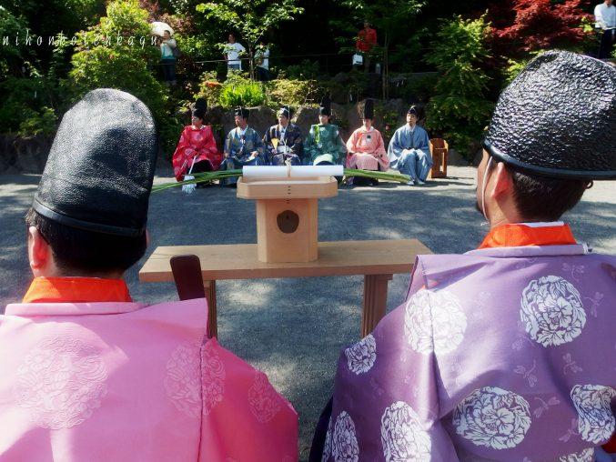鎌倉宮 草鹿式 神職 弓馬術礼法小笠原流鎌倉菱友会