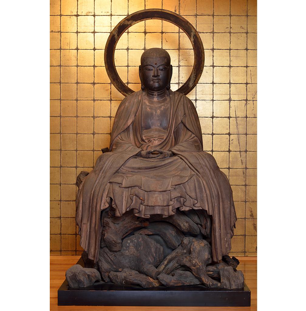 来迎寺(西御門)岩上地蔵菩薩坐像