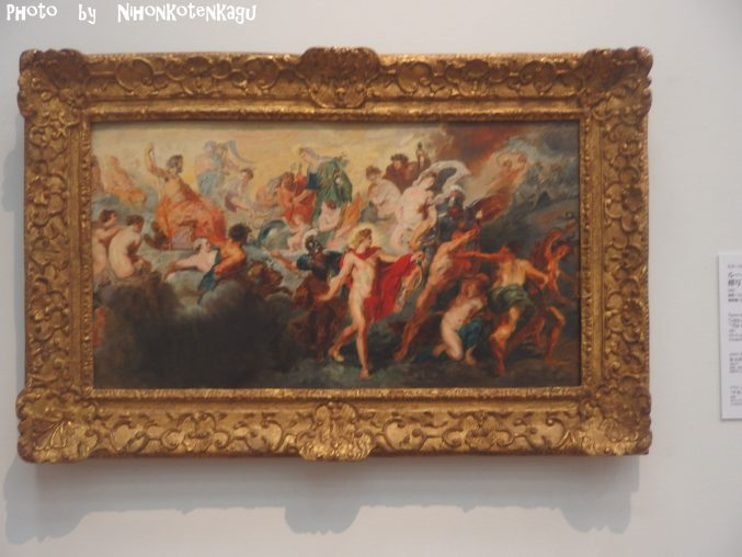 ルノアール  『ルーベンス作「神々の会議」の模写』国立西洋美術館所蔵