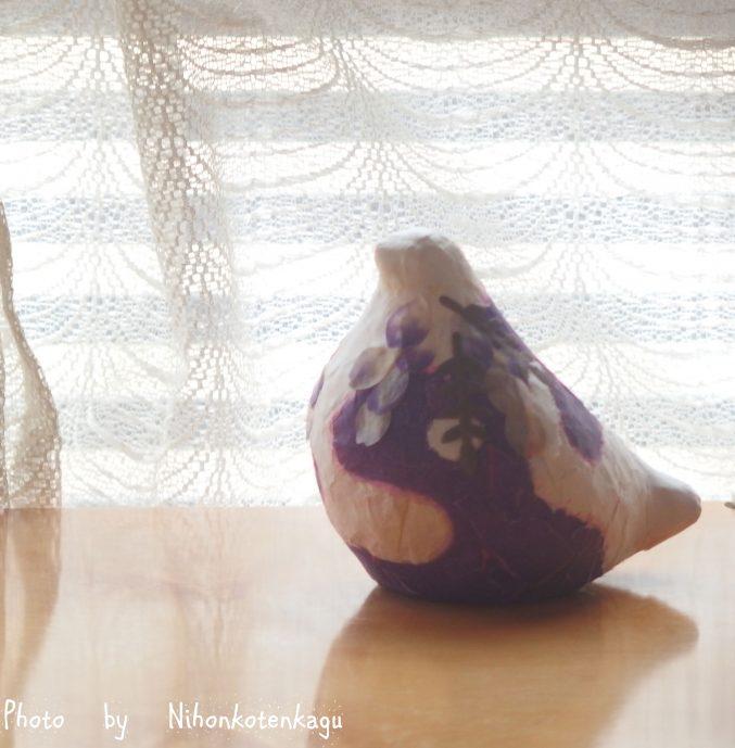 鳩の張り子