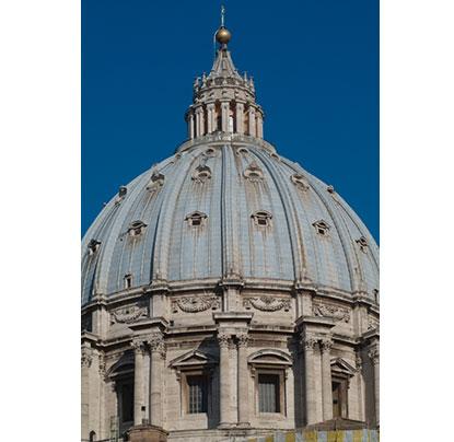 ミケランジェロ・ブオナローティ サン・ピエトロ大聖堂ドーム